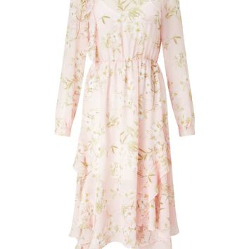 Pink Floral Sienna Dress - Up to 30% Off Selected Lines - Clothing