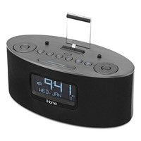 iHome iDL46GC Lightning Dock Dual Charging FM Stereo Clock Radio