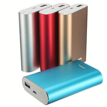 Hot Style Universal Safety Portable USB 3X 18650 Battery Charger DIY Power Bank Box Case Kit for Cell Phones all Smart Devices
