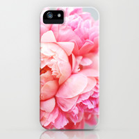 Peonies Forever iPhone & iPod Case by Ez Pudewa