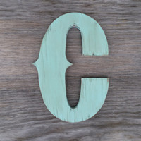 Rustic Wooden Letter C, Rodeo Wooden Letters, Rodeo Nursery Decor, Cowboy Themed Decor, Cowboy Themed Nursery, Guest Book Letter