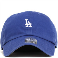 Los Angeles Dodgers Abate Clean Up Unstructured Strapback Hat Royal Blue