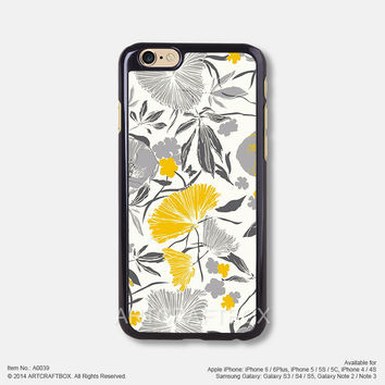 Flower floral pattern Free Shipping iPhone 6 6Plus case iPhone 5s case iPhone 5C case 039