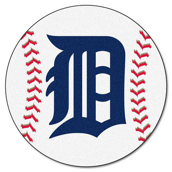 Detroit Tigers MLB Baseball Round Floor Mat (29)