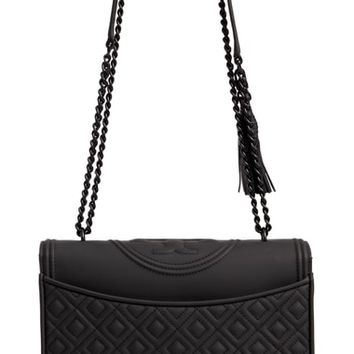 Tory Burch Fleming Matte Quilted Faux Leather Convertible Shoulder Bag | Nordstrom