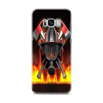 Firefighter (logo red flames) Samsung Galaxy S8 | Galaxy S8 Plus Case