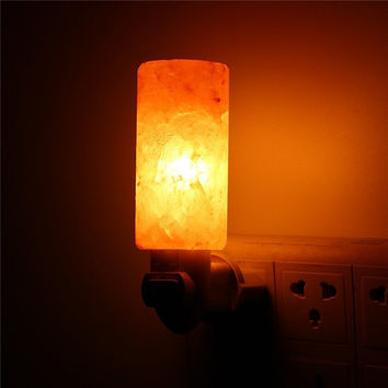 Mini Carved Himalayan Salt Lamp Plug-In