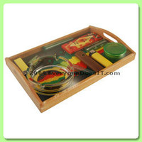 Rolling Tray Gift Set - Rasta Splash - Online Shop