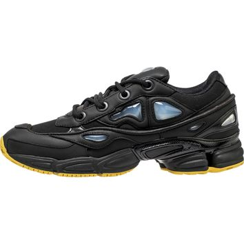 ADIDAS RAF SIMONS X OZWEEGO 3 MEN'S SHOE - BLACK/YELLOW