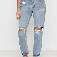 PacSun Favorite Blue Mom Jeans at PacSun.com