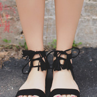 After Shock Sandals - Black
