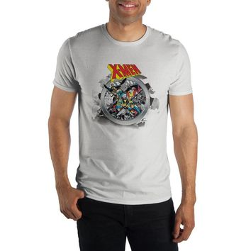 Marvel Comics X-Men Graphic Men's White T-Shirt Tee Shirt