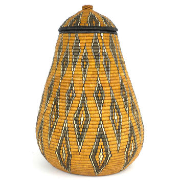 Handmade African Zulu Traditional  Wedding Basket