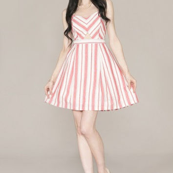 Candy Coated Fit & Flare Dress