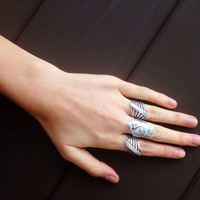 Steel Me Ring by Natalie B Jewelry