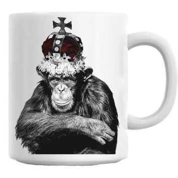 DCCKU7Q King Casey Monkey Mug