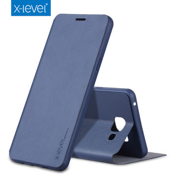 Luxury X-Level High-quality Classic Leather Case For Samsung Galaxy A3 A5 A7 2017 J1 J2 J3 J5 J7 2016 S7 Edge J2 J5 J7 Prime