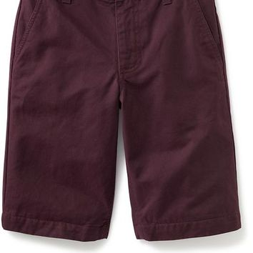 Old Navy Boys Flat Front Shorts