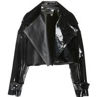 Cropped Patent Leather Jacket | Moda Operandi