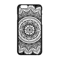 Glow in the Dark Floral Medallion Cover for iPhone 6