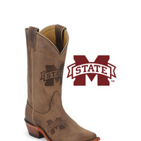 Nocona Women's Mississippi State Bulldogs Branded Boot