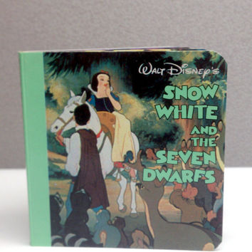 1986 Snow White Vintage Baby Board Book by VintageWoods on Etsy