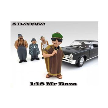 """Mr. Raza """"Homies"""" Figurine For 1:18 Scale Diecast Model Cars by American Diorama"""