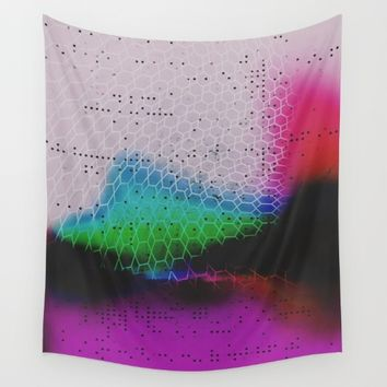 Heavy Glow  Wall Tapestry by DuckyB