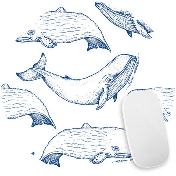 Captain Ahab Mouse Pad Decal
