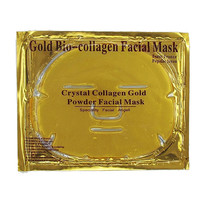Crystal Collagen Gold Powder Face Mask Effect Anti Aging Anti Wrinkle Gold Face Mask Full Face Gold Mask for Women Skin Care