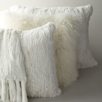 Adrienne Landau Fur Pillows and Throw