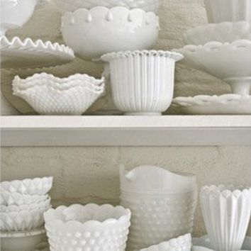 milk glass