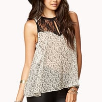 Chic Paisley Blouse