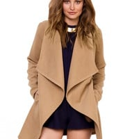 Waterfall Lapel Jacket