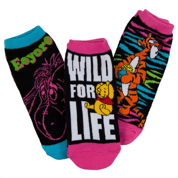 Winnie The Pooh - Characters Women's Ankle Socks 3-Pack