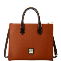 Dooney & Bourke Cork with Dark Brown trim Janine Satchel