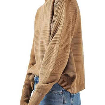 Topshop Mixed Stitch Sweater | Nordstrom