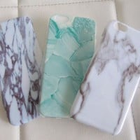 Wholesale lot bundle marble turquoise blue green white iPhone 6 6S case cases