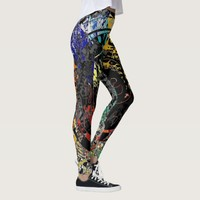 Graffiti Abstract Leggings