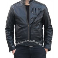 Tie Fighter Star Wars Leather Jacket