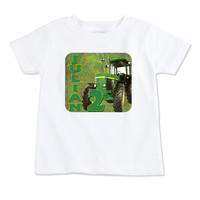 T-Shirt-Birthday T-Shirt-Party T-Shirt-Personalized-Custom T-Shirts- Party Favor-Party Decor-John Deere-Deere Guy-Tractor Guy