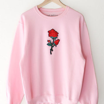 Rose Oversized Sweater