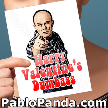Funny Valentine Card | That 70's Show Card | Red Foreman Valentines Day Card I Love You Card Anniversary Card for Boyfriend Gift for Her Him