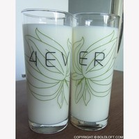 Forever™ His and Hers Drinking Glasses-Wedding Gifts,Wedding Gifts for the Couple,Wedding Gifts for Bride and Groom,His and Hers Gifts,Anniversary Gifts,His and Hers Gifts