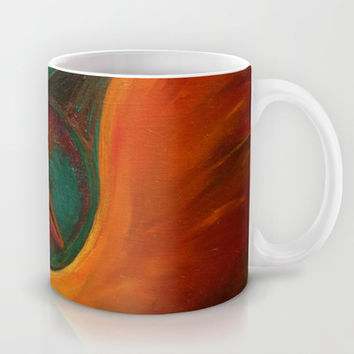 DRAGON EYE Mug by Deyana Deco