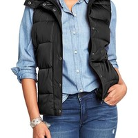 Old Navy Womens Frost Free Quilted Vests