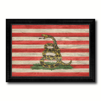 Revolution Split Up New Sprint Military Flag Texture Canvas Print with Black Picture Frame Gift Ideas Home Decor Wall Art