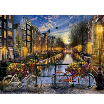 YANXIN DIY Framed Painting By Numbers Oil Paint Photo Wall Art Digital Pictures Painting Decor For Home Decoration Gifts S004