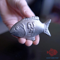 Lucky Iron Fish™ - buy 1 and give 1 (Available in Canada, USA, Europe, Australia, New Zealand)