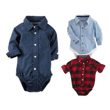 Cute Baby Clothes Unisex Kids' Rompers